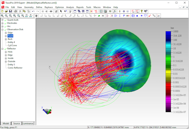 free ray tracing software optical design
